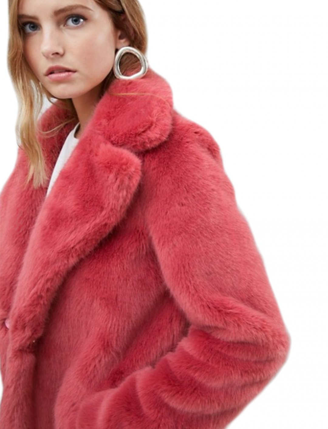 """Faux Fur Coat {""""id"""":5,""""product_section_id"""":1,""""name"""":""""Clothing"""",""""order"""":5} Only"""