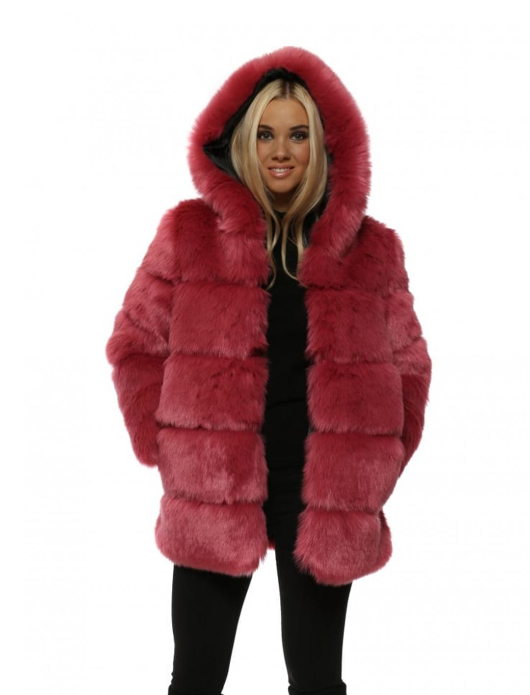 """Kodie Shane's Faux Fur Coat {""""id"""":5,""""product_section_id"""":1,""""name"""":""""Clothing"""",""""order"""":5} Amo Couture"""