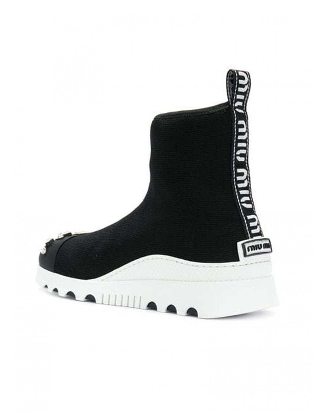 """Kodie Shane's Sock Sneakers {""""id"""":12,""""product_section_id"""":1,""""name"""":""""Shoes"""",""""order"""":12} Miu Miu"""