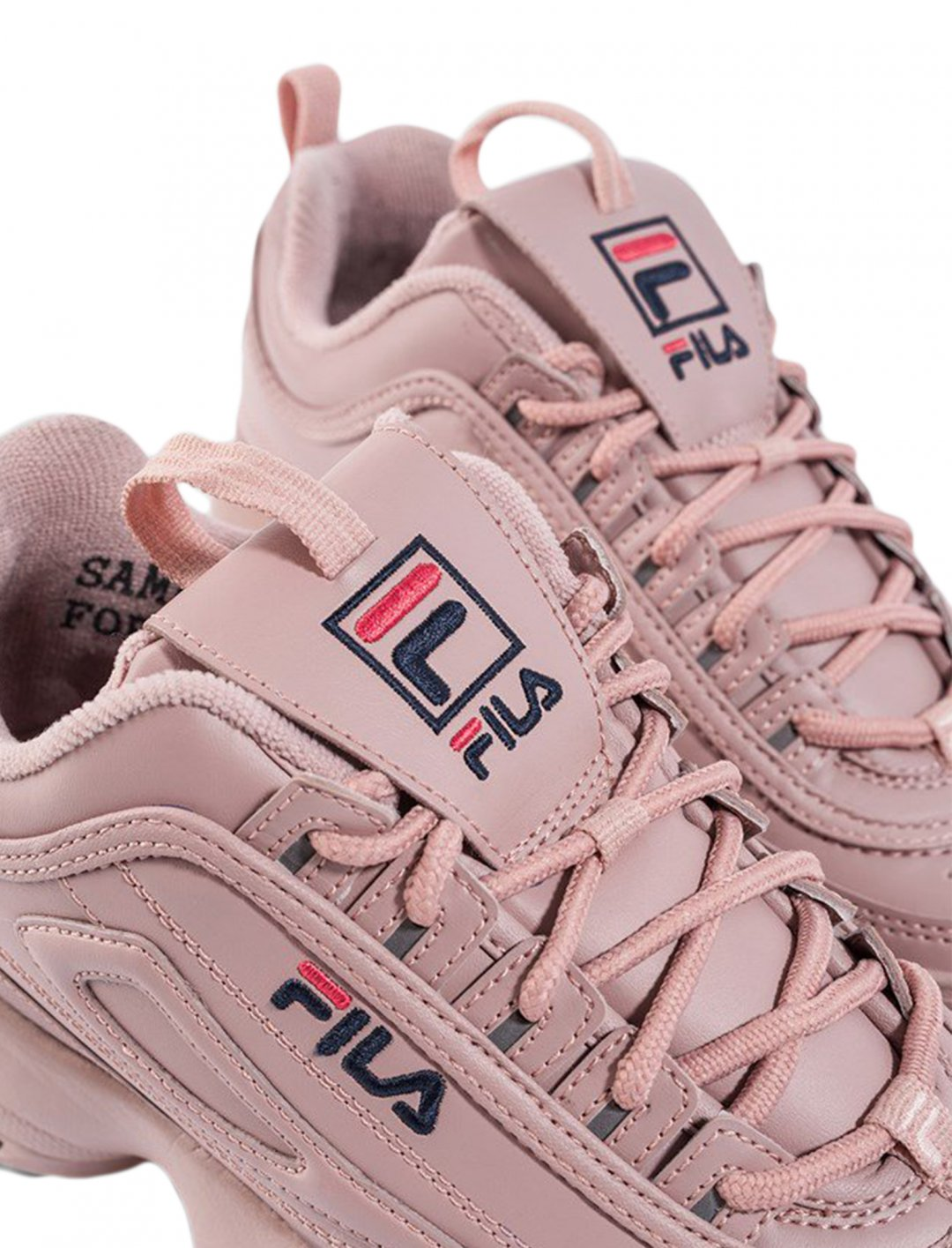 """Pink Disruptor Sneakers {""""id"""":12,""""product_section_id"""":1,""""name"""":""""Shoes"""",""""order"""":12} FILA"""