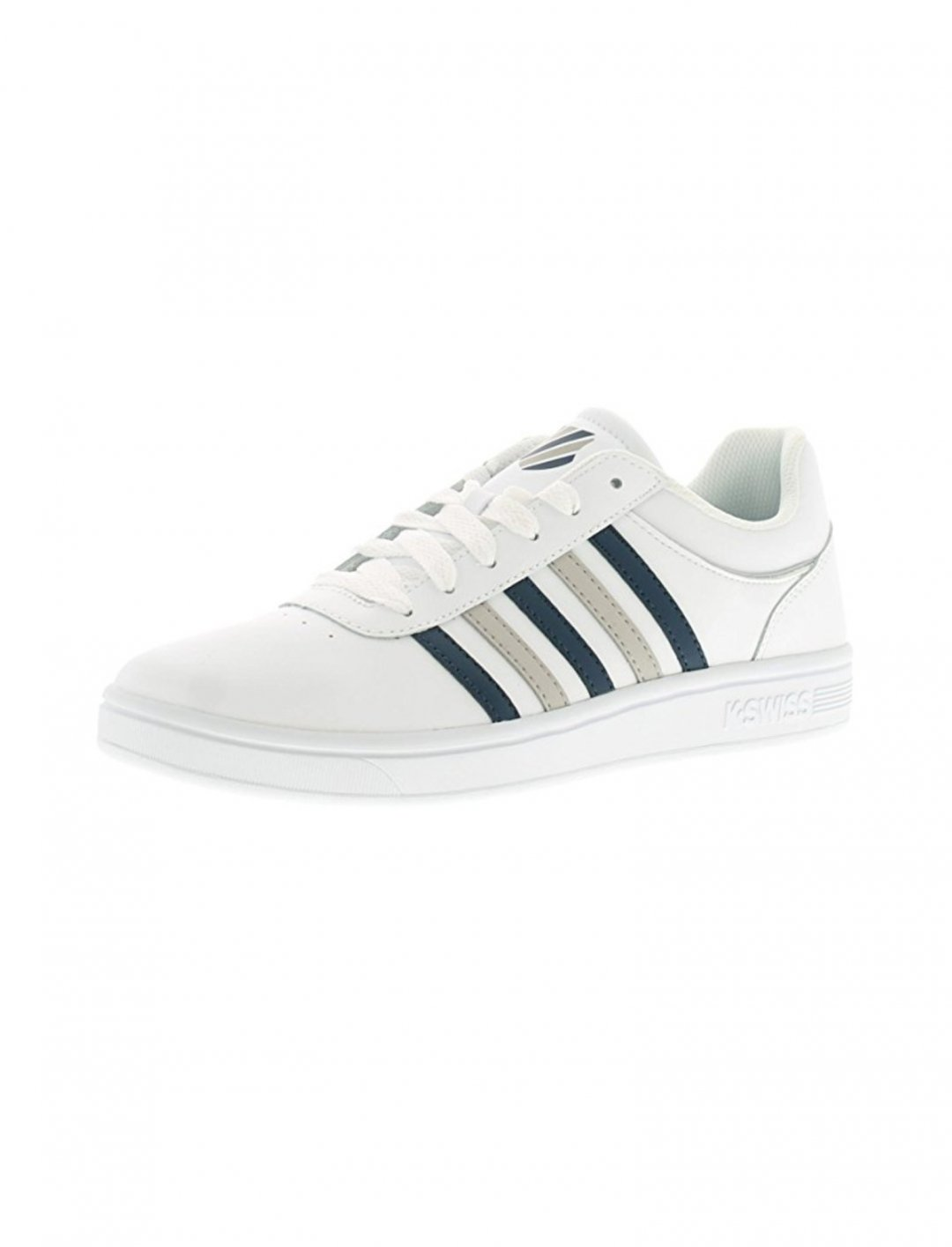 "K-Swiss White Trainers {""id"":12,""product_section_id"":1,""name"":""Shoes"",""order"":12} K-Swiss"