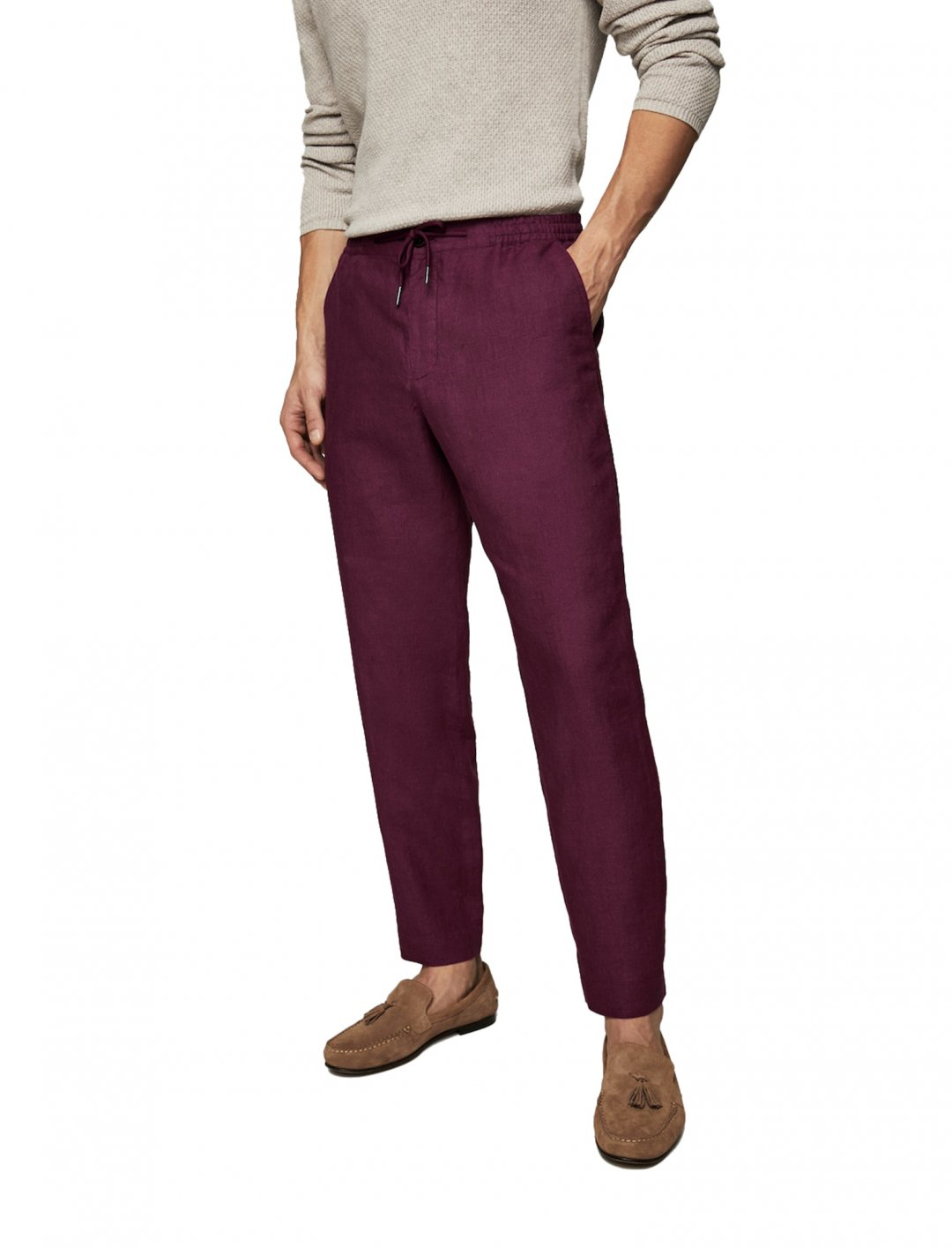 "Mango Linen Suit Trousers {""id"":5,""product_section_id"":1,""name"":""Clothing"",""order"":5} Mango"