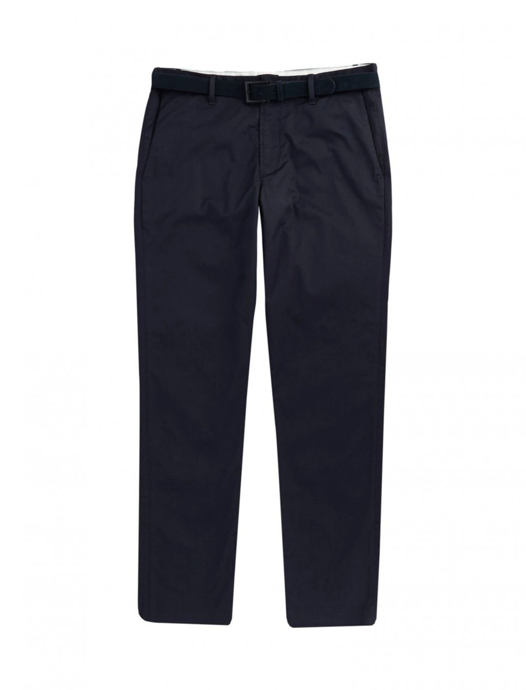 "Navy Chino Trousers {""id"":5,""product_section_id"":1,""name"":""Clothing"",""order"":5} River Island"