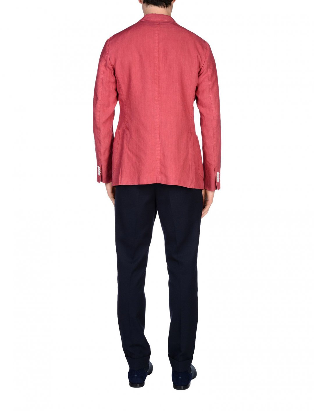 "Red Linen Blazer {""id"":5,""product_section_id"":1,""name"":""Clothing"",""order"":5} Boglioli"