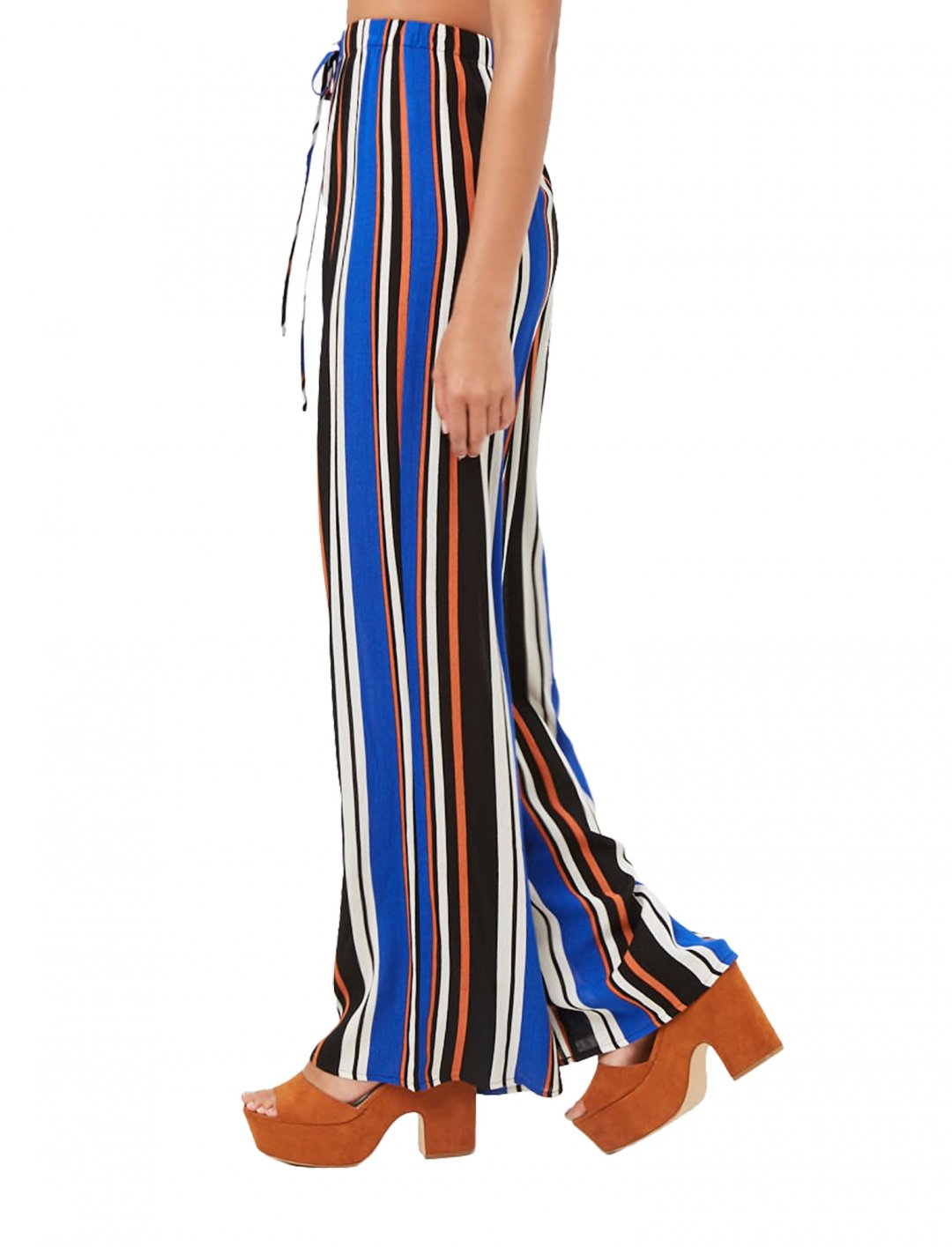 "Striped Palazzo Trousers {""id"":5,""product_section_id"":1,""name"":""Clothing"",""order"":5} Forever21"
