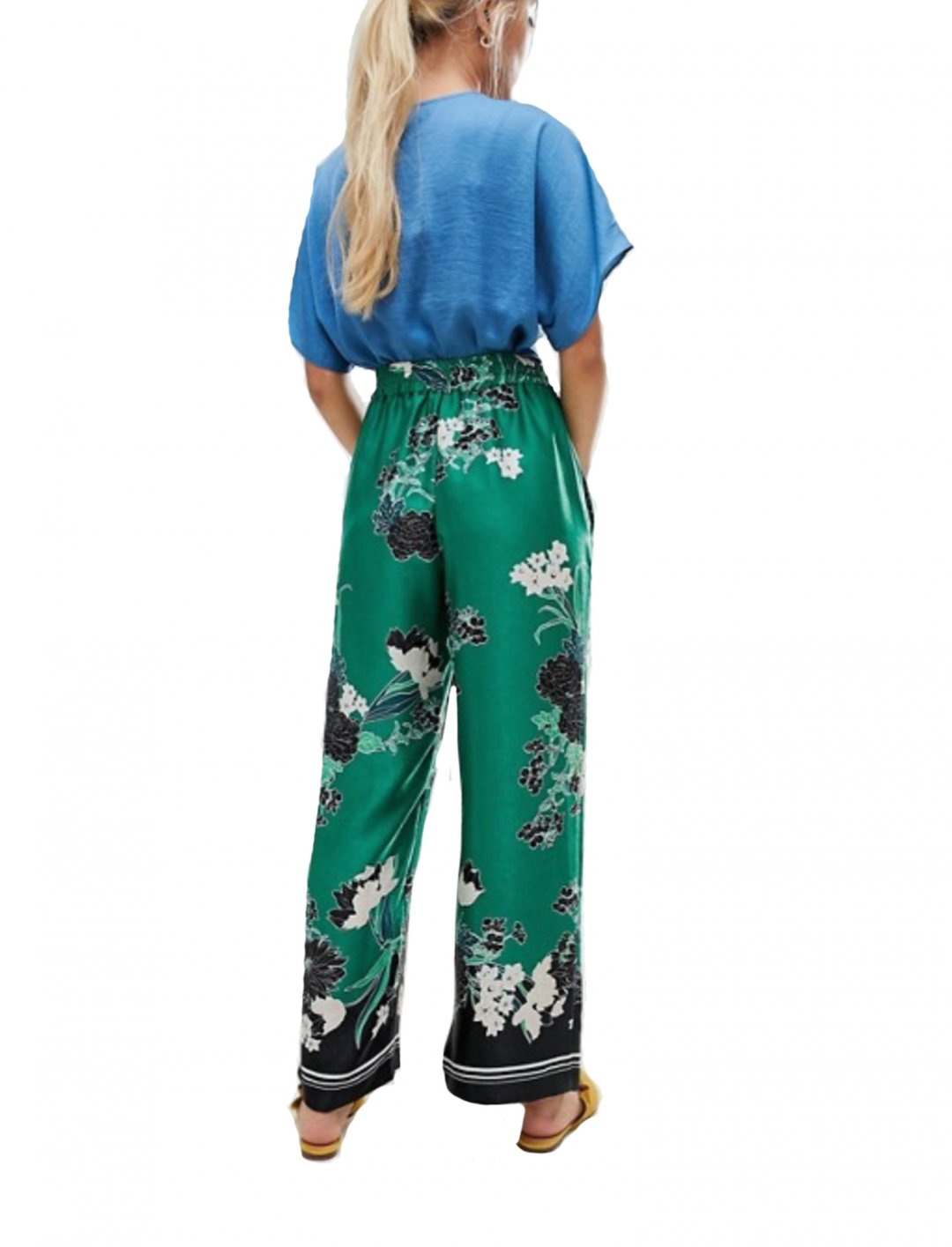 "Floral Print Trousers {""id"":5,""product_section_id"":1,""name"":""Clothing"",""order"":5} River Island"
