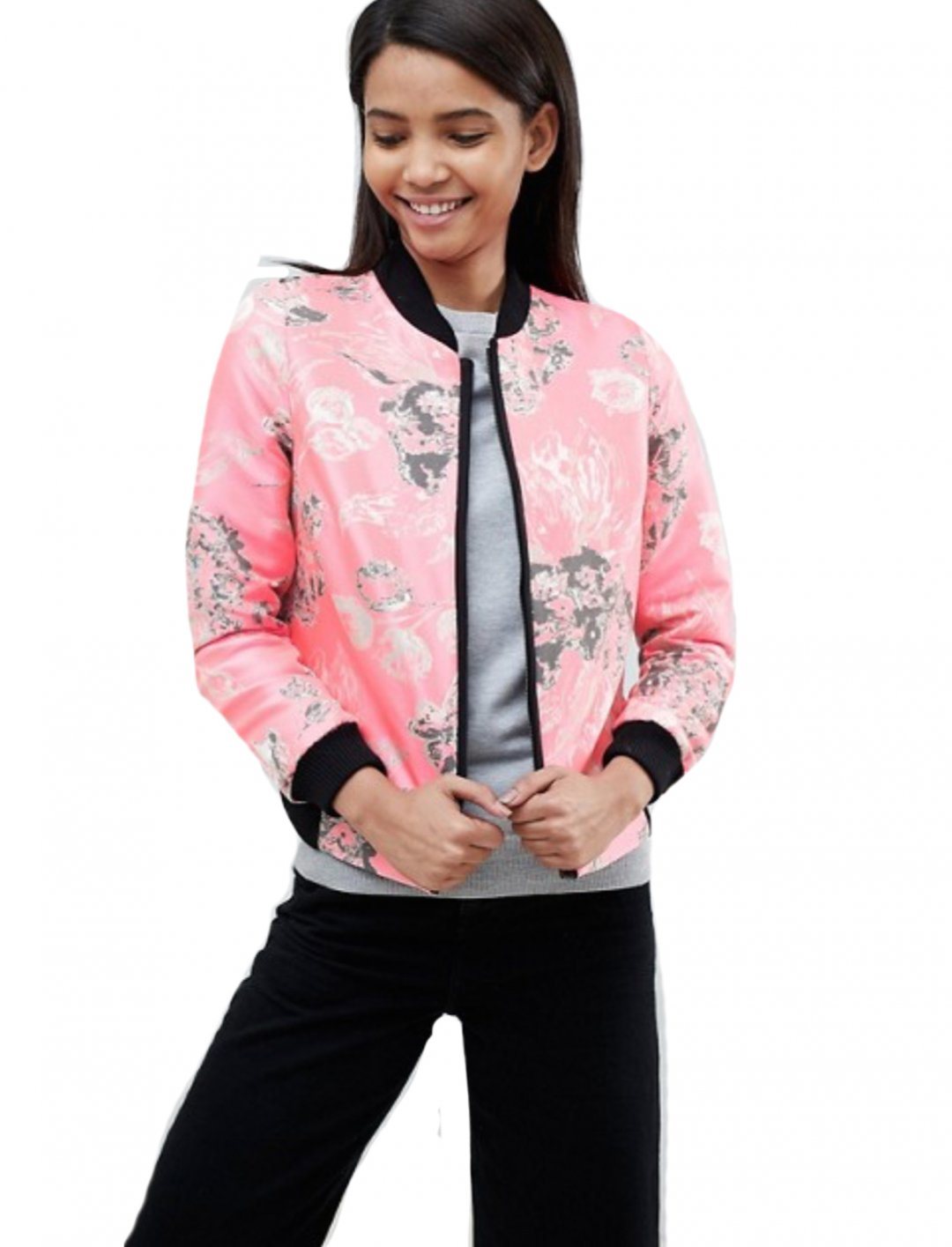 "Jacquard Bomber Jacket {""id"":5,""product_section_id"":1,""name"":""Clothing"",""order"":5} Helene Berman"