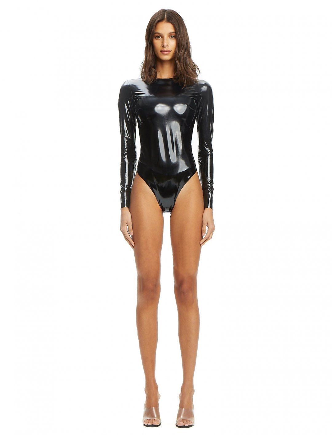 "Lady Leshurr's Vinyl Bodysuit {""id"":5,""product_section_id"":1,""name"":""Clothing"",""order"":5} I.AM.GIA"