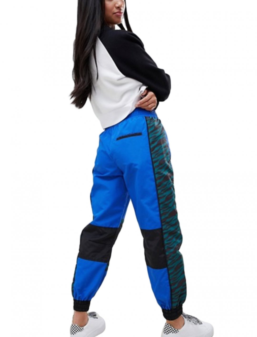 "Mixed Print Joggers {""id"":5,""product_section_id"":1,""name"":""Clothing"",""order"":5} ASOS"