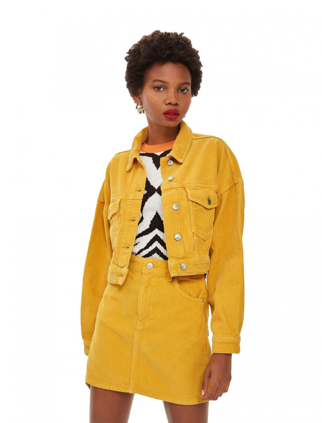 "Mustard Corduroy Jacket {""id"":5,""product_section_id"":1,""name"":""Clothing"",""order"":5} Topshop"