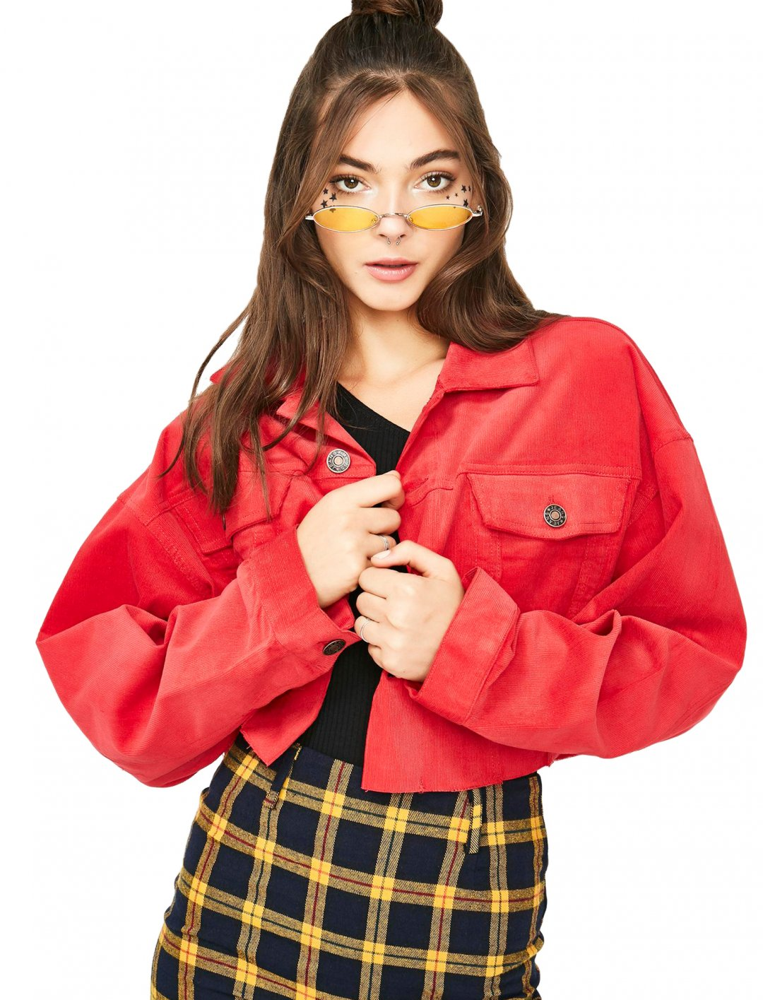 "Red Corduroy Jacket {""id"":5,""product_section_id"":1,""name"":""Clothing"",""order"":5} Dolls Kill"