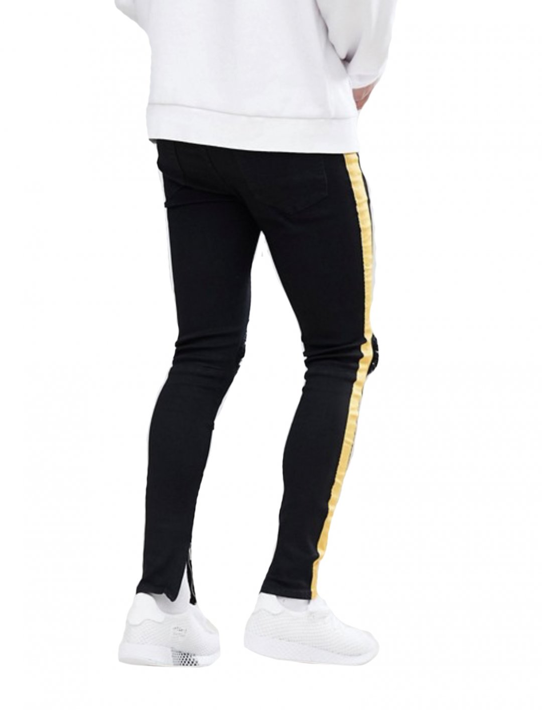 "Side Stripe Jeans {""id"":5,""product_section_id"":1,""name"":""Clothing"",""order"":5} Sixth June"