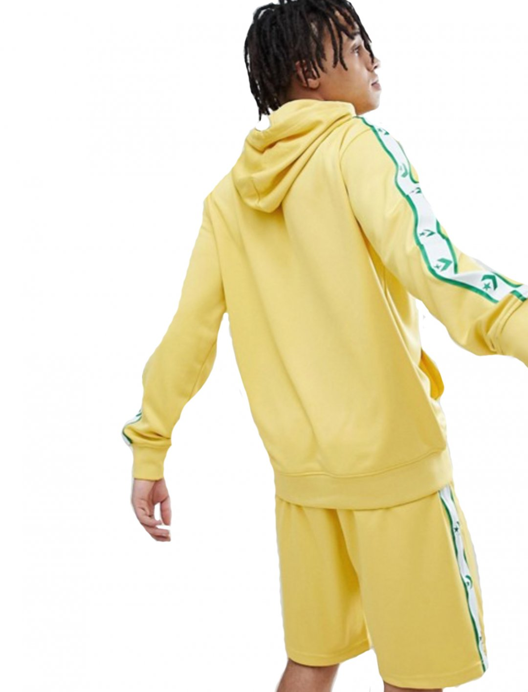 "Yellow Pullover Hoodie {""id"":5,""product_section_id"":1,""name"":""Clothing"",""order"":5} Converse"