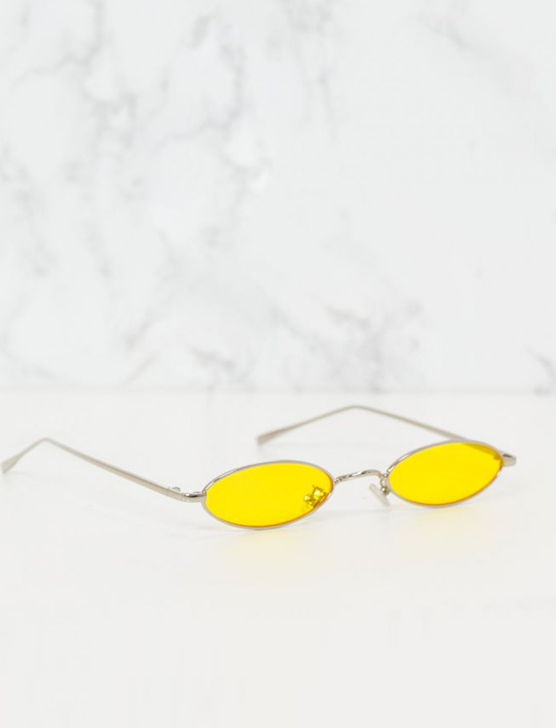 "Yellow Small Sunglasses {""id"":15,""product_section_id"":1,""name"":""Other"",""order"":0} Pretty Little Thing"