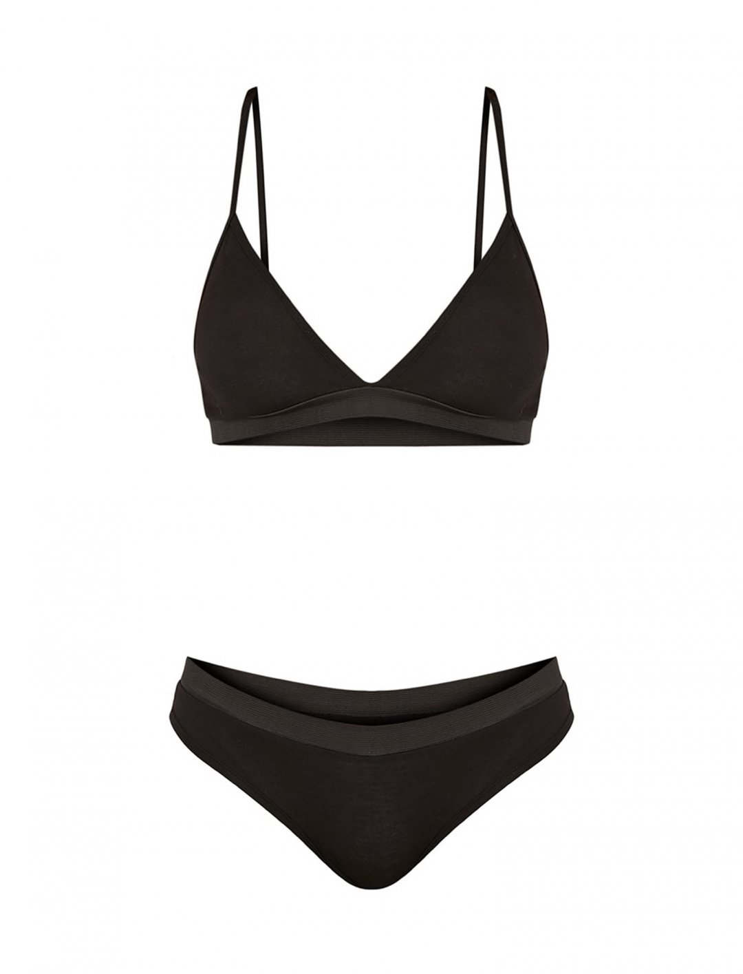 "Black Jersey Bra {""id"":5,""product_section_id"":1,""name"":""Clothing"",""order"":5} Pretty Little Thing"