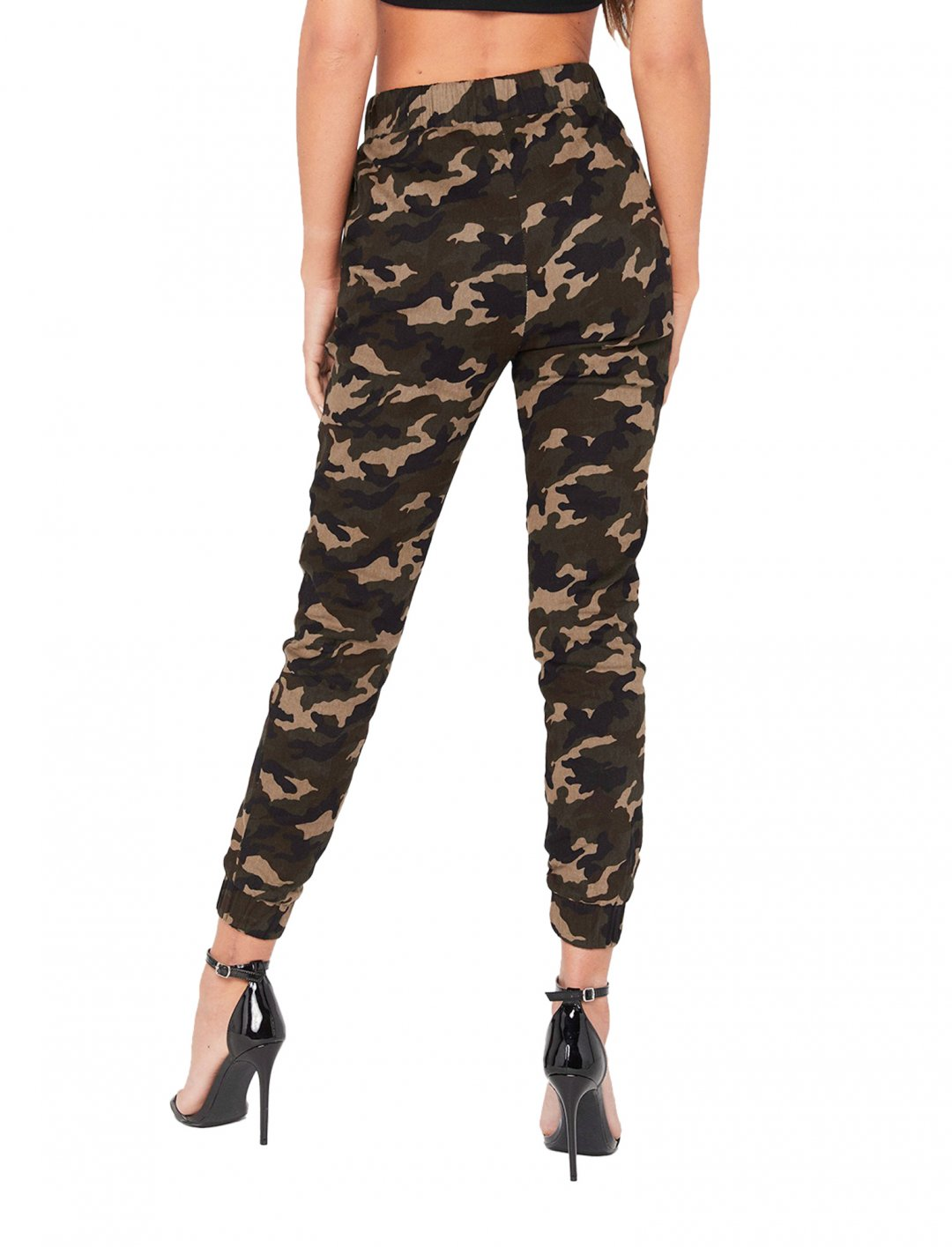 "Miss Pap Camo Print Joggers {""id"":5,""product_section_id"":1,""name"":""Clothing"",""order"":5} Miss Pap"