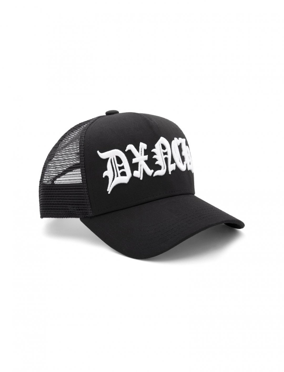 "Stay Dench Trucker Cap {""id"":16,""product_section_id"":1,""name"":""Accessories"",""order"":15} Stay Dench"