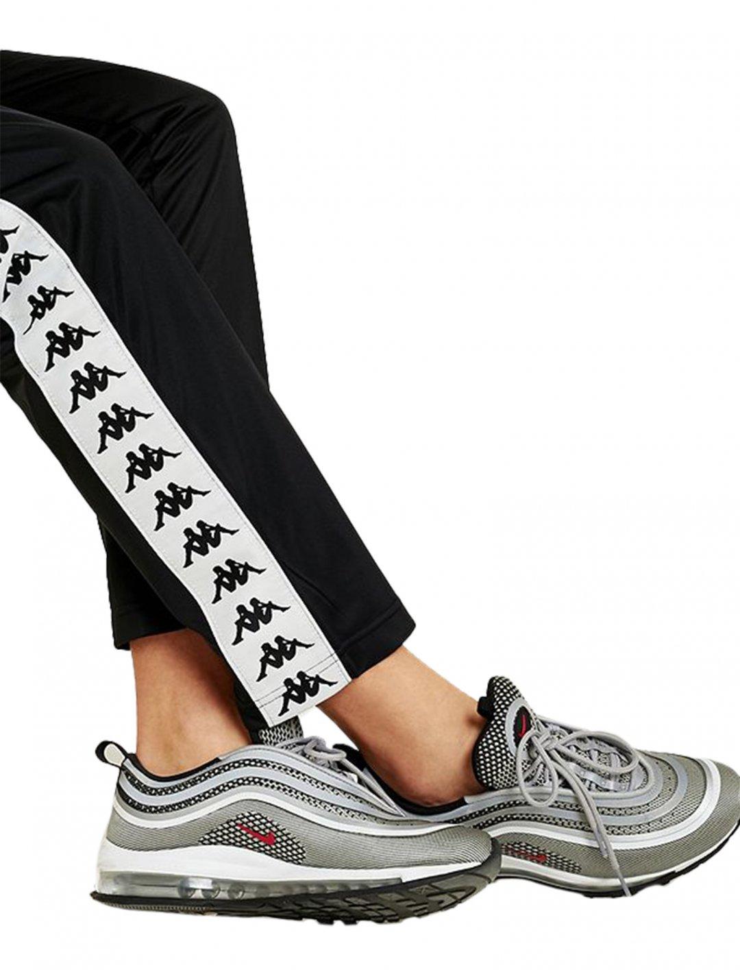 "Kappa Black Track Pants {""id"":5,""product_section_id"":1,""name"":""Clothing"",""order"":5} Kappa"