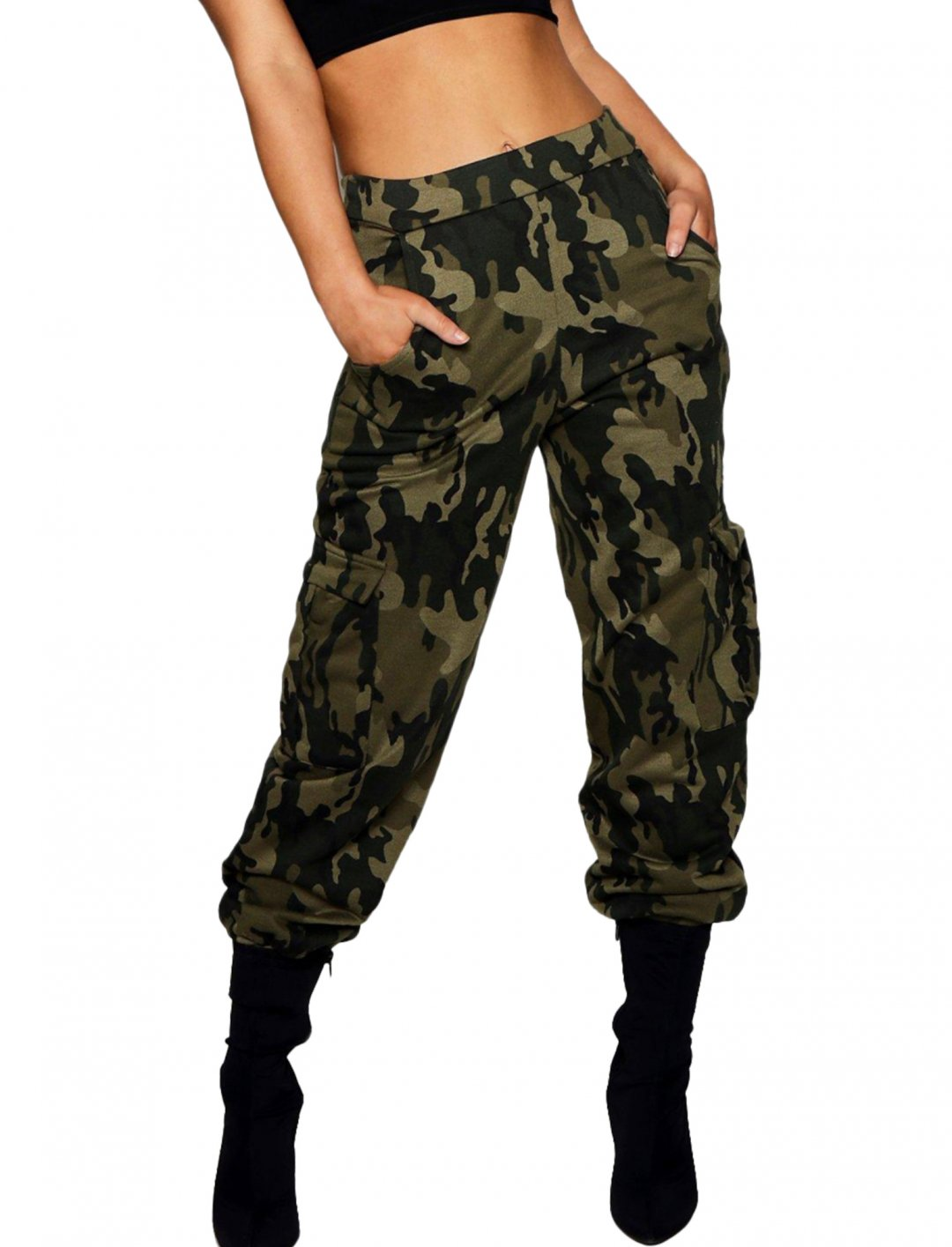 "Boohoo Camo Cargo Trouser {""id"":5,""product_section_id"":1,""name"":""Clothing"",""order"":5} Boohoo"