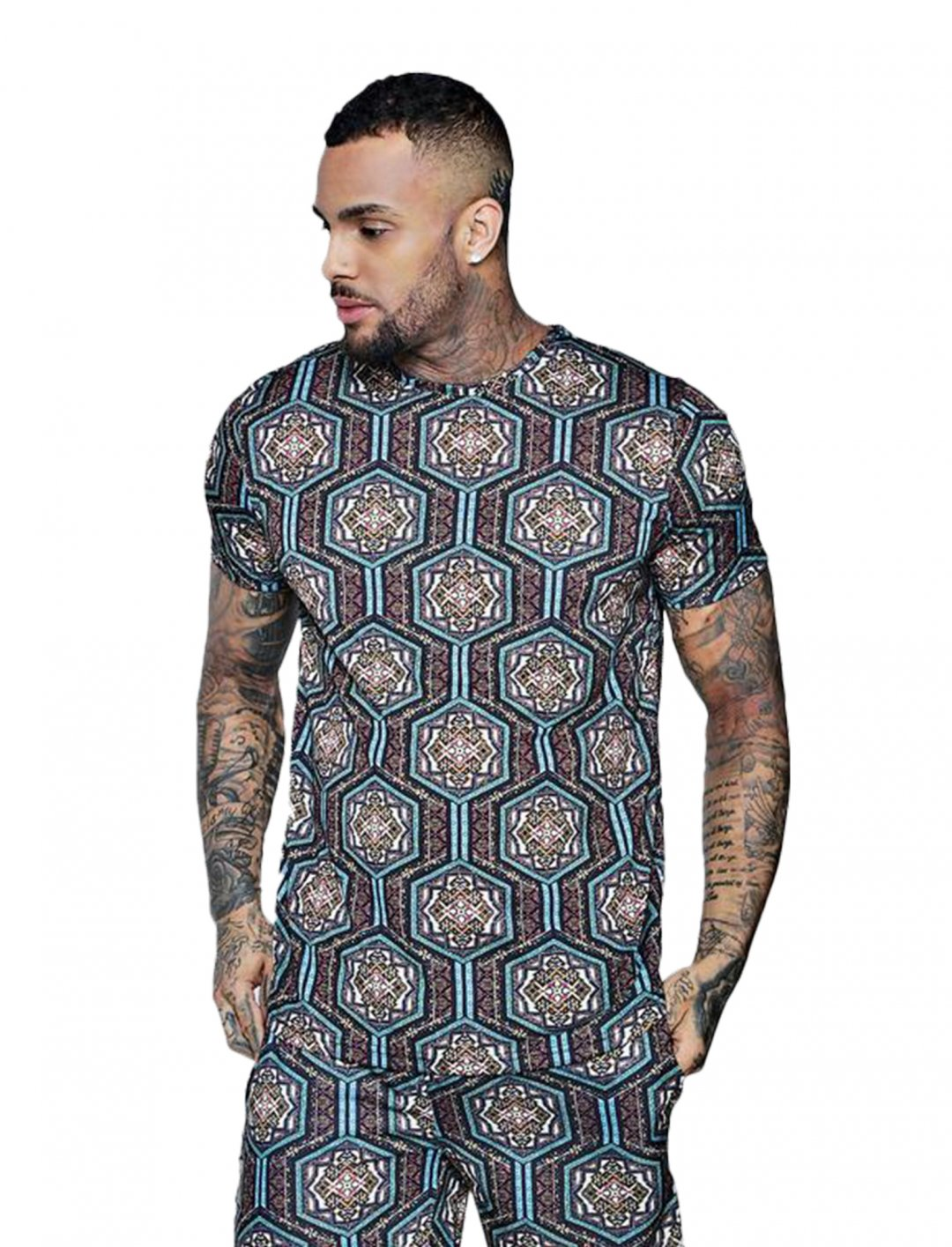"BoohooMAN Printed Shirt {""id"":5,""product_section_id"":1,""name"":""Clothing"",""order"":5} boohooMAN"