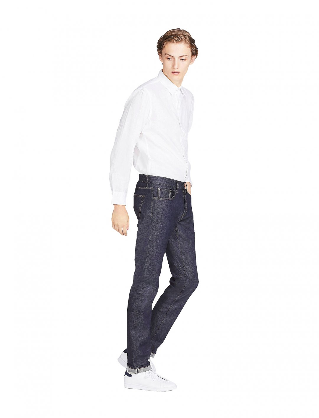 "Uniqlo Slim Fit Jeans {""id"":5,""product_section_id"":1,""name"":""Clothing"",""order"":5} Uniqlo"