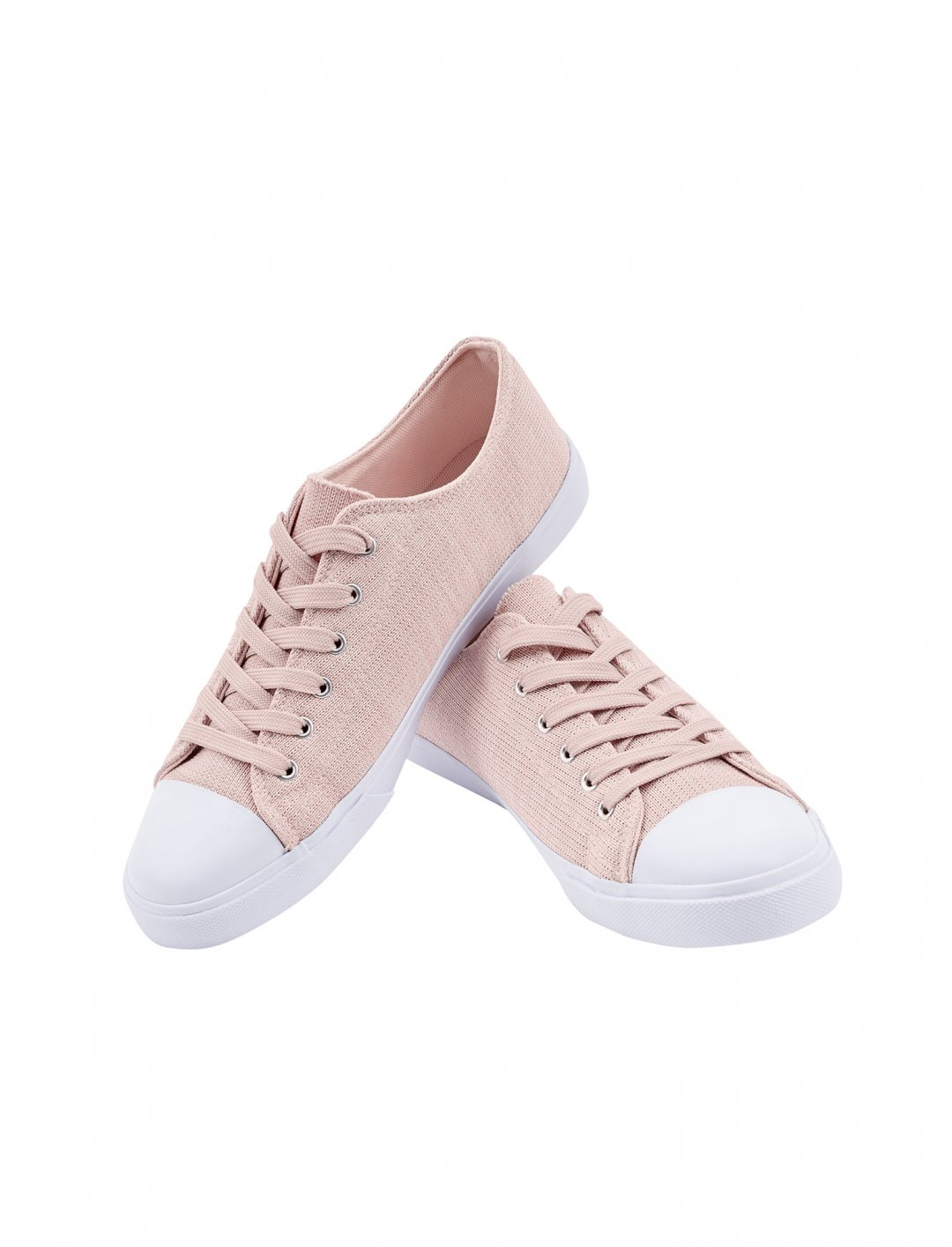 "Lauren's Knitted Lace Up Trainers {""id"":12,""product_section_id"":1,""name"":""Shoes"",""order"":12} New Look"
