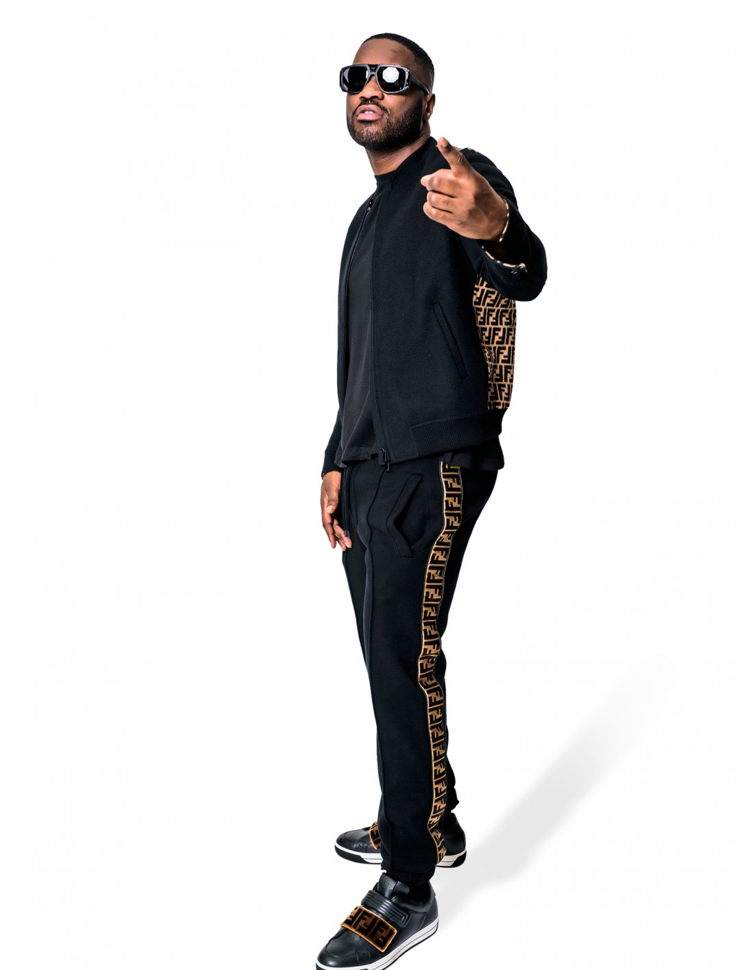"Lethal Bizzle's Trousers {""id"":5,""product_section_id"":1,""name"":""Clothing"",""order"":5} Fendi"