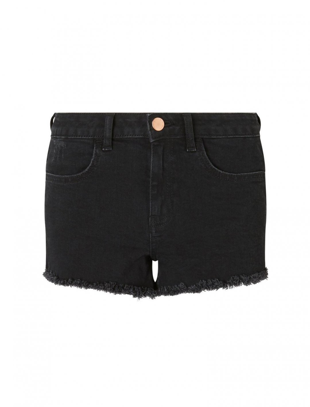 Miss Selfridge Black Shorts Clothing Miss Selfridge