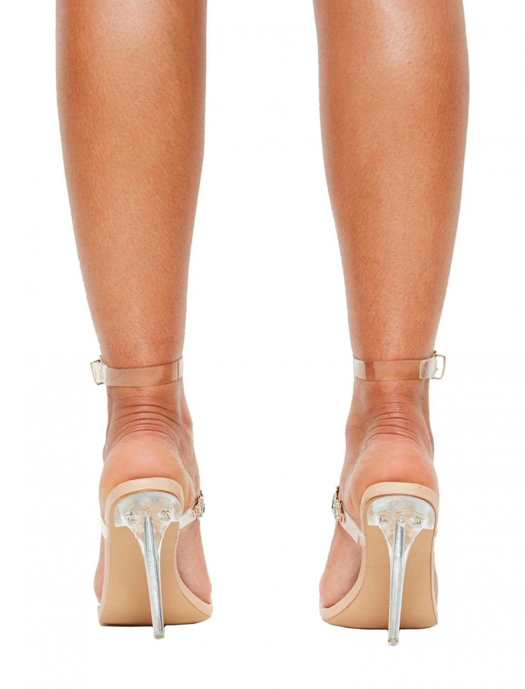 "Missguided Bejeweled Heeled Sandals {""id"":12,""product_section_id"":1,""name"":""Shoes"",""order"":12} Missguided"