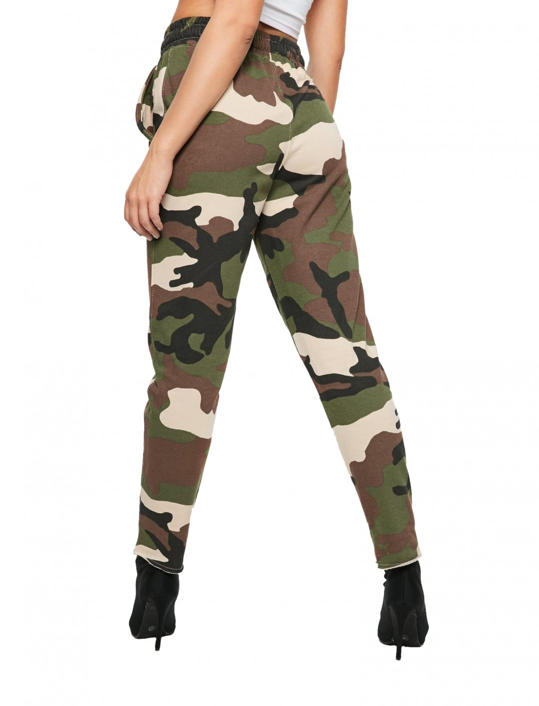 "Missguided Camo Joggers {""id"":5,""product_section_id"":1,""name"":""Clothing"",""order"":5} Missguided"