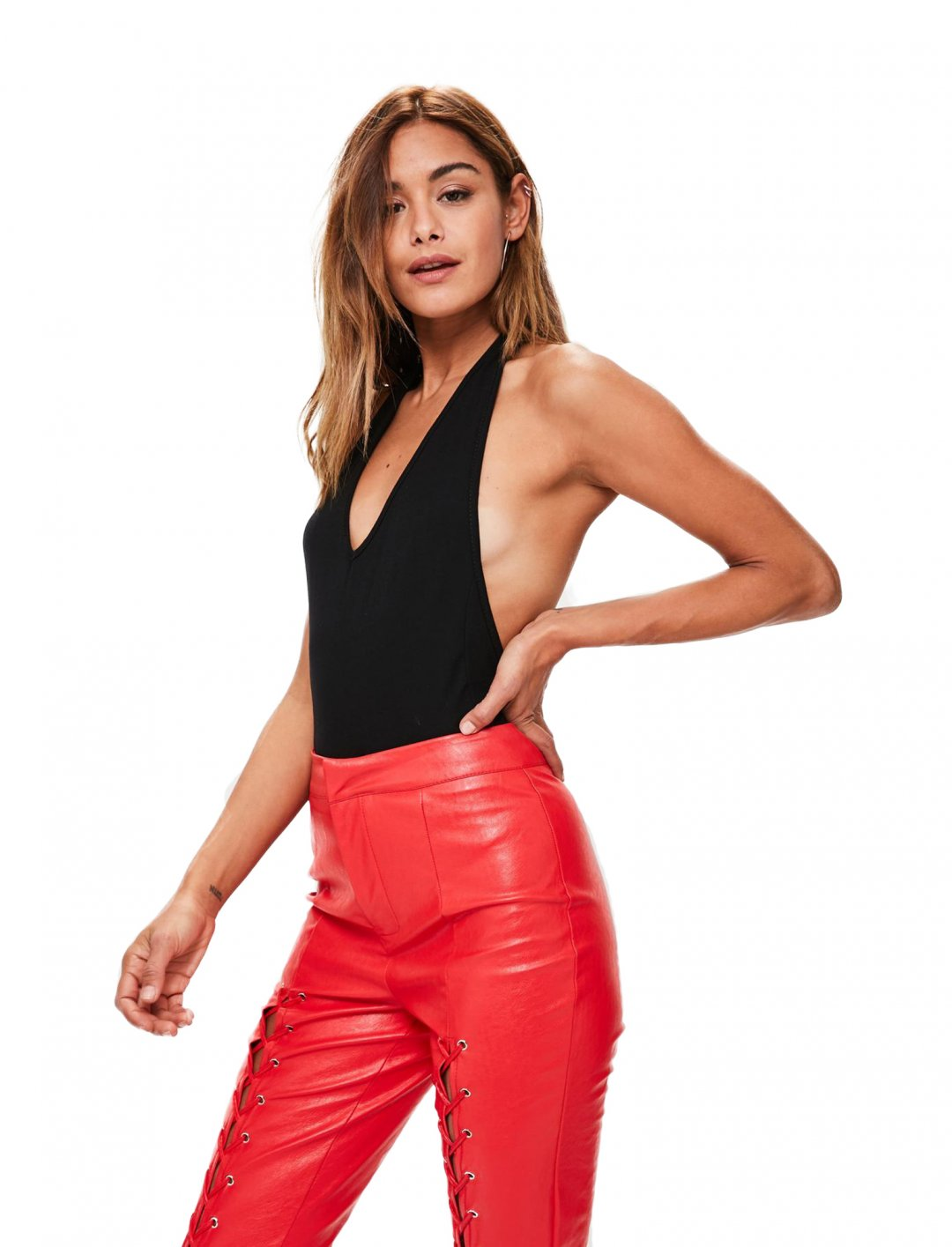 "Missguided Halter Bodysuit {""id"":5,""product_section_id"":1,""name"":""Clothing"",""order"":5} Missguided"
