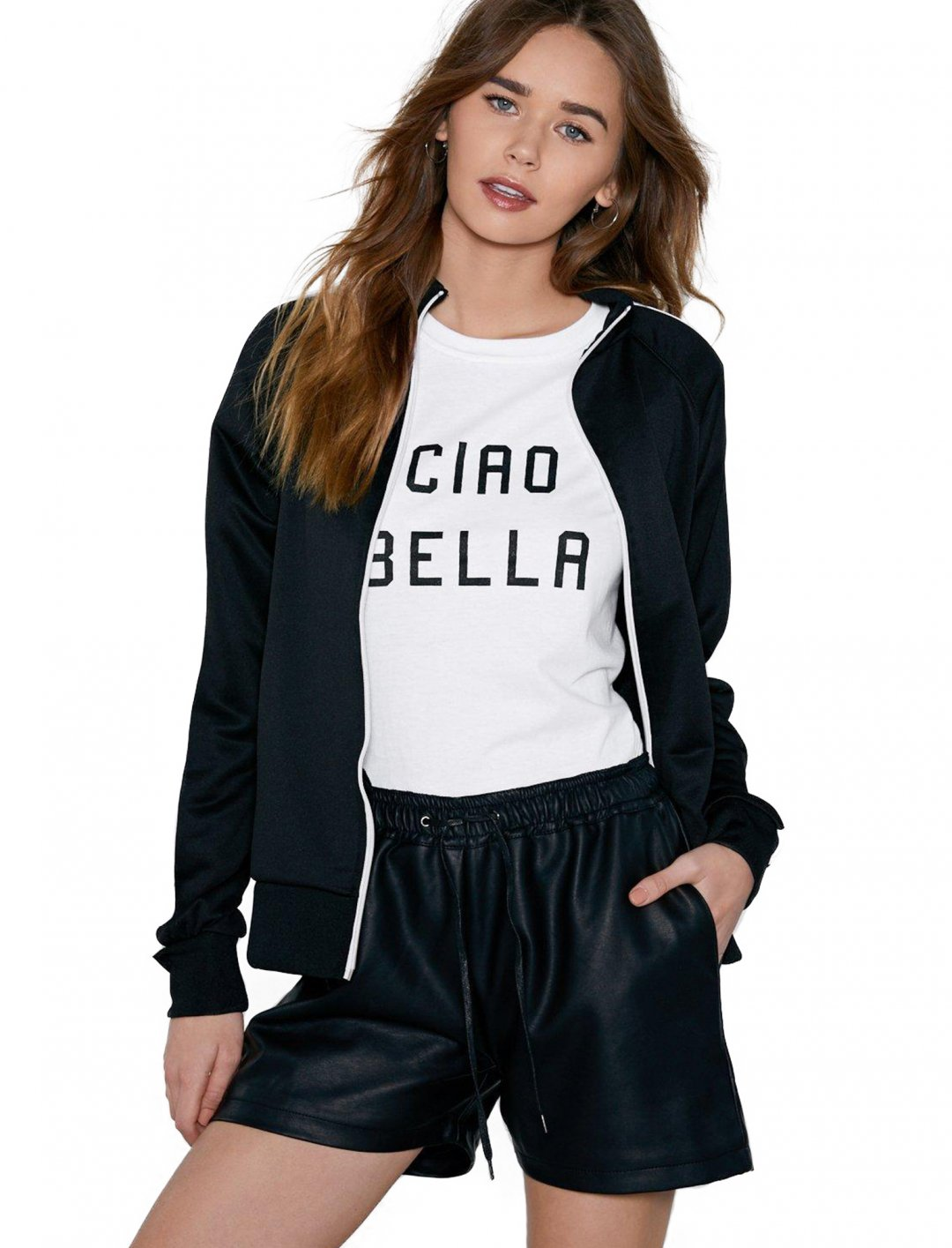 "Nasty Gal Leather Shorts {""id"":5,""product_section_id"":1,""name"":""Clothing"",""order"":5} Nasty Gal"