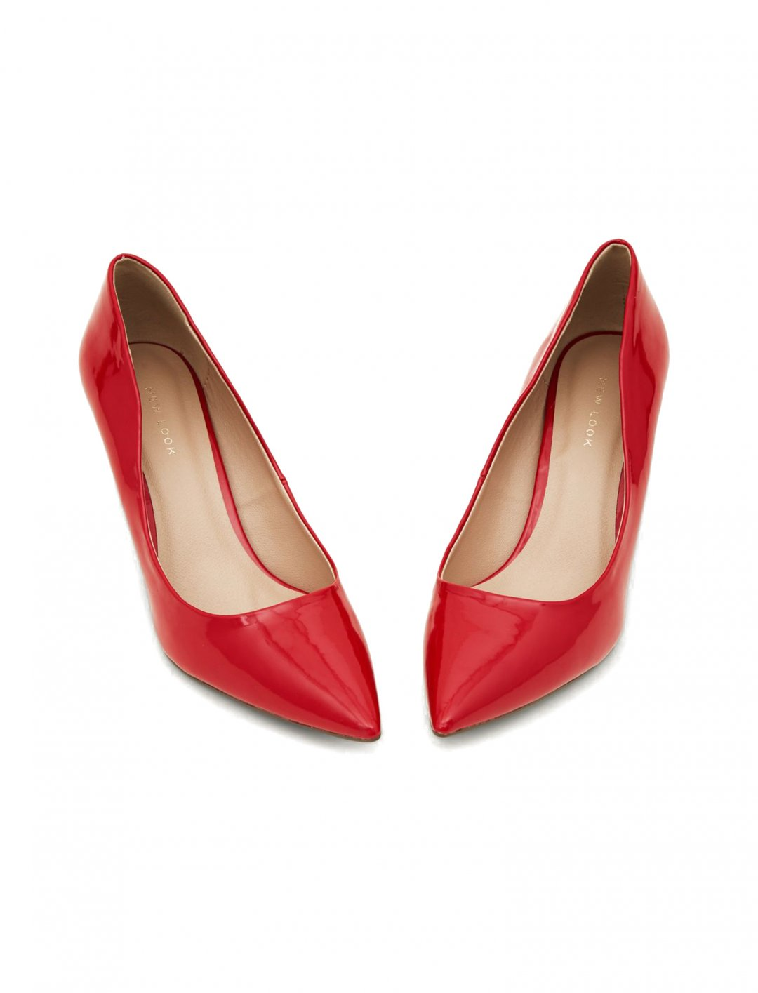 "New Look  Patent Pointed Courts {""id"":12,""product_section_id"":1,""name"":""Shoes"",""order"":12} New Look"