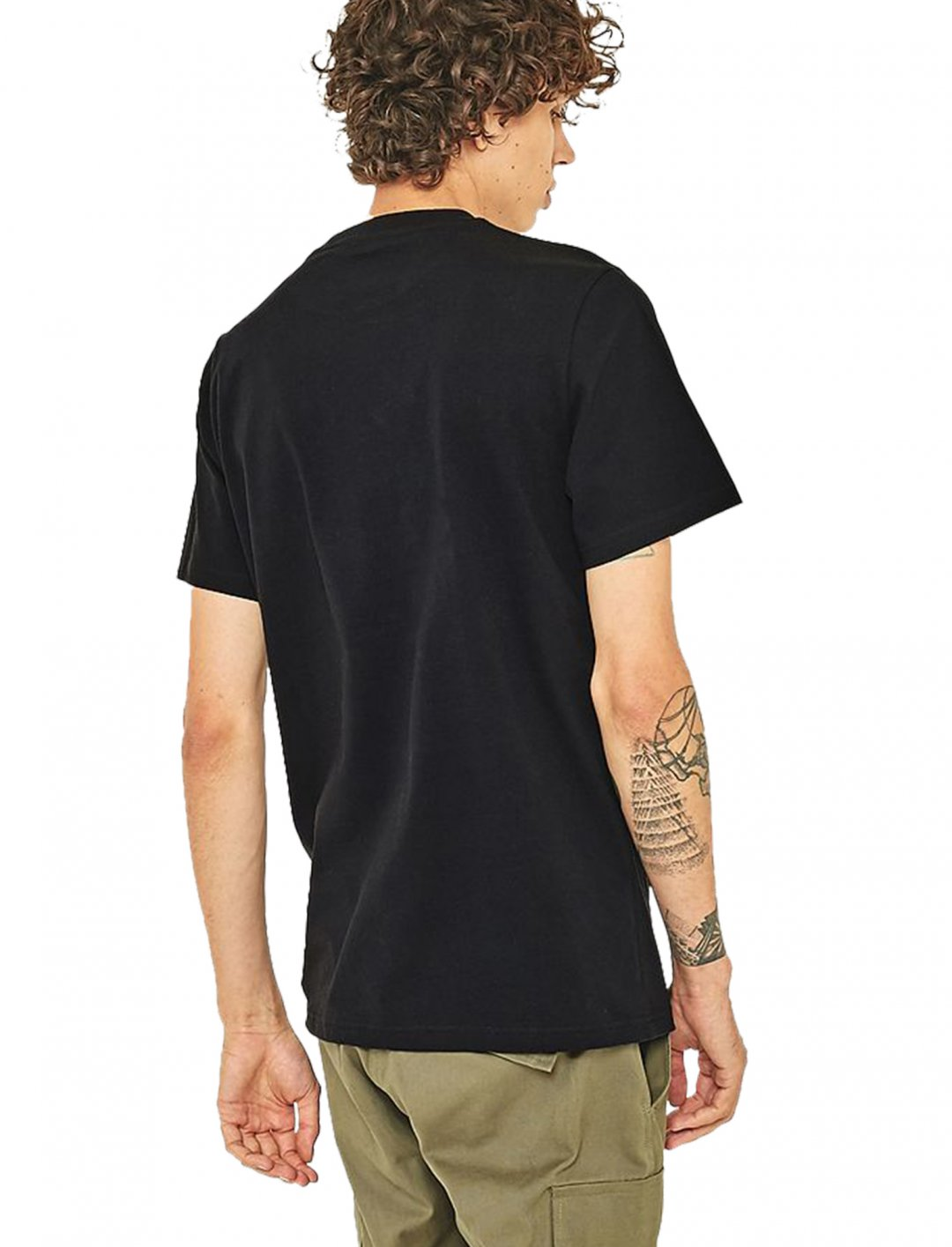 "UO Black Rose Embroidery T-shirt {""id"":5,""product_section_id"":1,""name"":""Clothing"",""order"":5} Urban Outfitters"