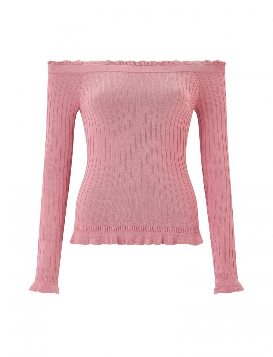 "Bardot Top In Pink {""id"":5,""product_section_id"":1,""name"":""Clothing"",""order"":5} Miss Selfridge"