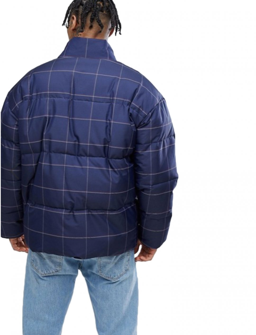 "Checked Puffer Jacket {""id"":5,""product_section_id"":1,""name"":""Clothing"",""order"":5} ASOS DESIGN"