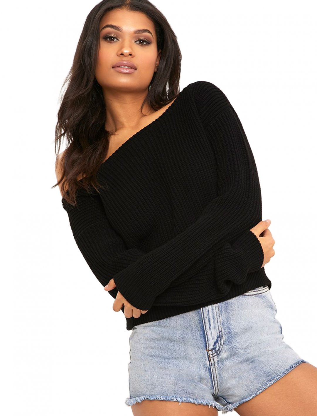 "Cropped Jumper {""id"":5,""product_section_id"":1,""name"":""Clothing"",""order"":5} Pretty Little Thing"