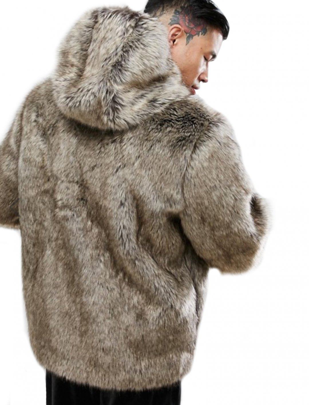 "Faux Fur Bomber Jacket {""id"":5,""product_section_id"":1,""name"":""Clothing"",""order"":5} ASOS DESIGN"