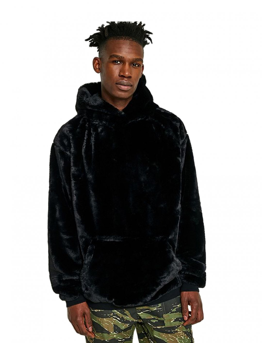 "Faux Fur Hoodie {""id"":5,""product_section_id"":1,""name"":""Clothing"",""order"":5} UO"