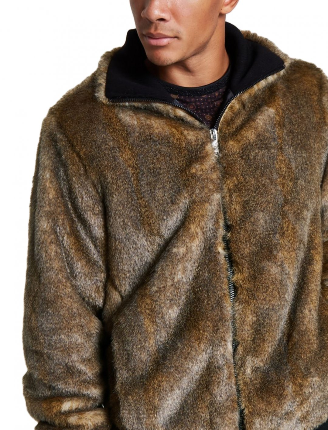 "Faux Fur Jacket {""id"":5,""product_section_id"":1,""name"":""Clothing"",""order"":5} River Island"