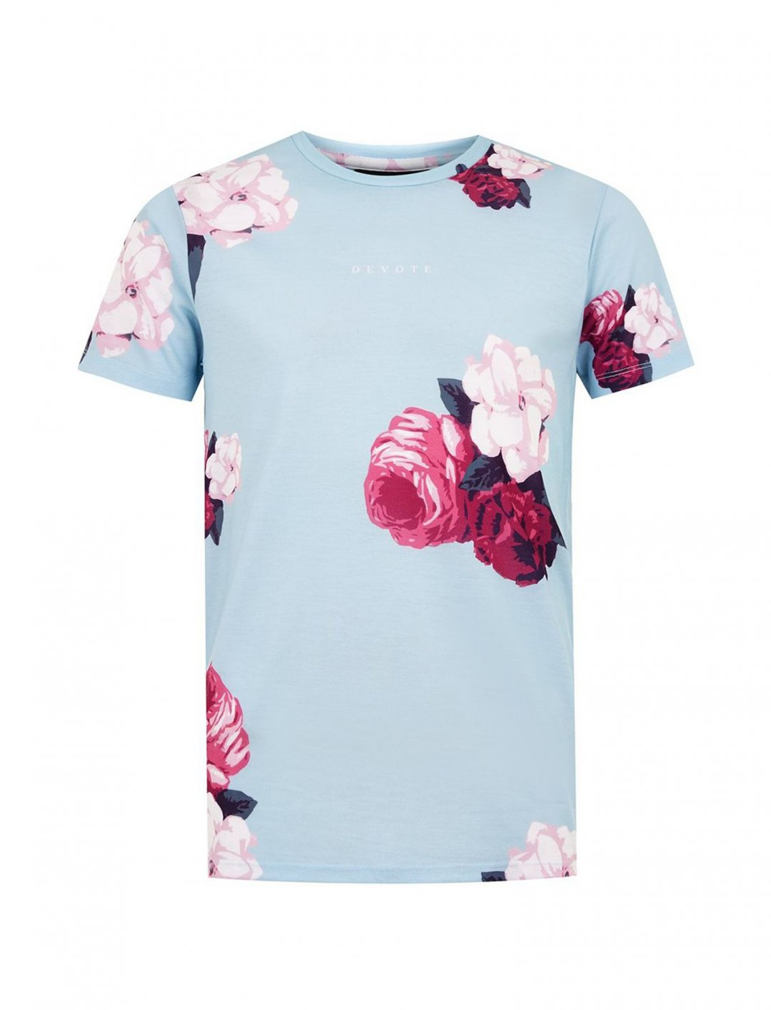 "Floral Print T-Shirt {""id"":5,""product_section_id"":1,""name"":""Clothing"",""order"":5} DEVOTE"