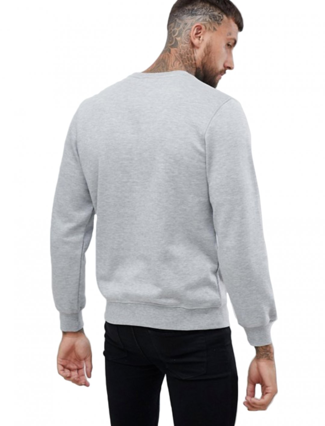 "Logo Sweatshirt In Grey {""id"":5,""product_section_id"":1,""name"":""Clothing"",""order"":5} Nicce London"