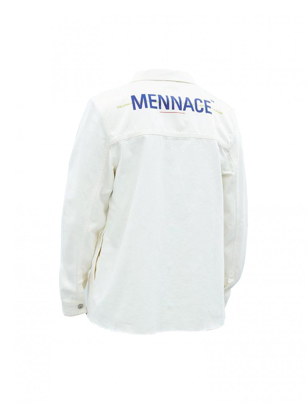 "Lotto Boyzz' Denim Shirt In White {""id"":5,""product_section_id"":1,""name"":""Clothing"",""order"":5} Mennace"