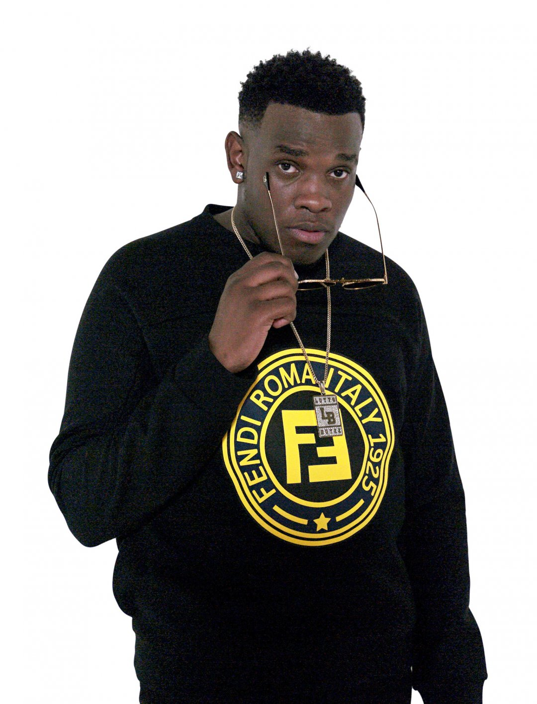 "Lotto Boyzz' Logo Sweatshirt {""id"":5,""product_section_id"":1,""name"":""Clothing"",""order"":5} Fendi"