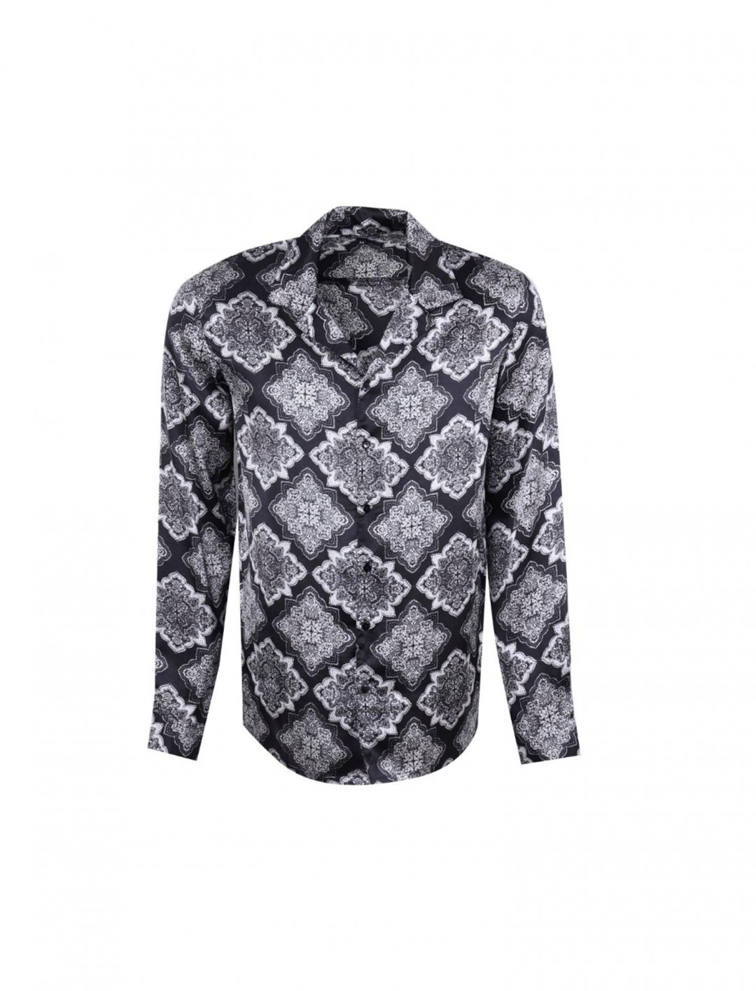 "Lotto Boyzz' Mandala Print Shirt {""id"":5,""product_section_id"":1,""name"":""Clothing"",""order"":5} boohoo"