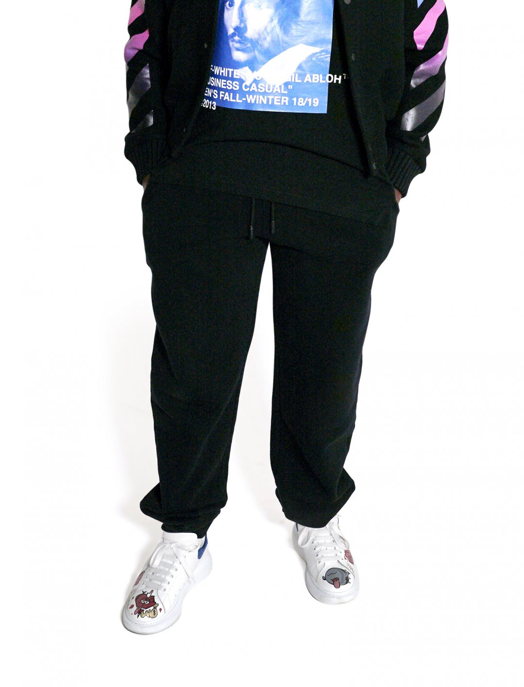 "Lotto Boyzz' Sweat Pants {""id"":5,""product_section_id"":1,""name"":""Clothing"",""order"":5} Off-White"