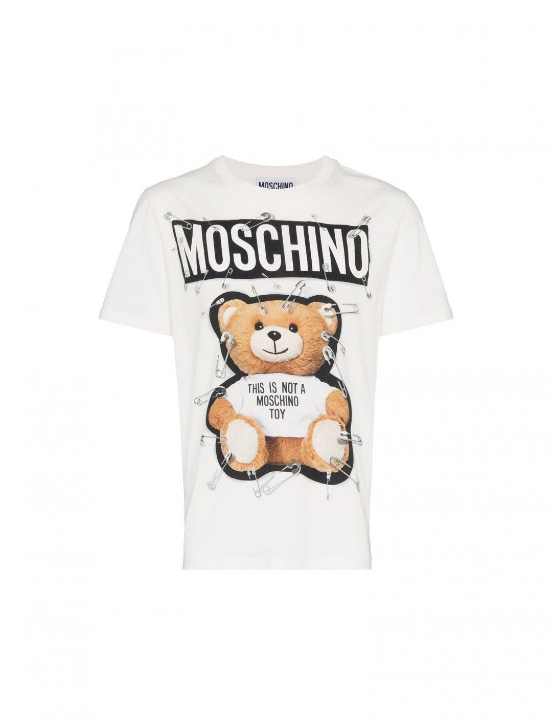 "Lotto Boyzz' Teddy Bear T-Shirt {""id"":5,""product_section_id"":1,""name"":""Clothing"",""order"":5} Moschino"