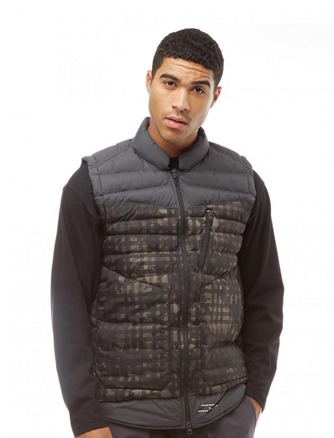 "Padded Gilet {""id"":5,""product_section_id"":1,""name"":""Clothing"",""order"":5} adidas Originals x White Mountaineering"