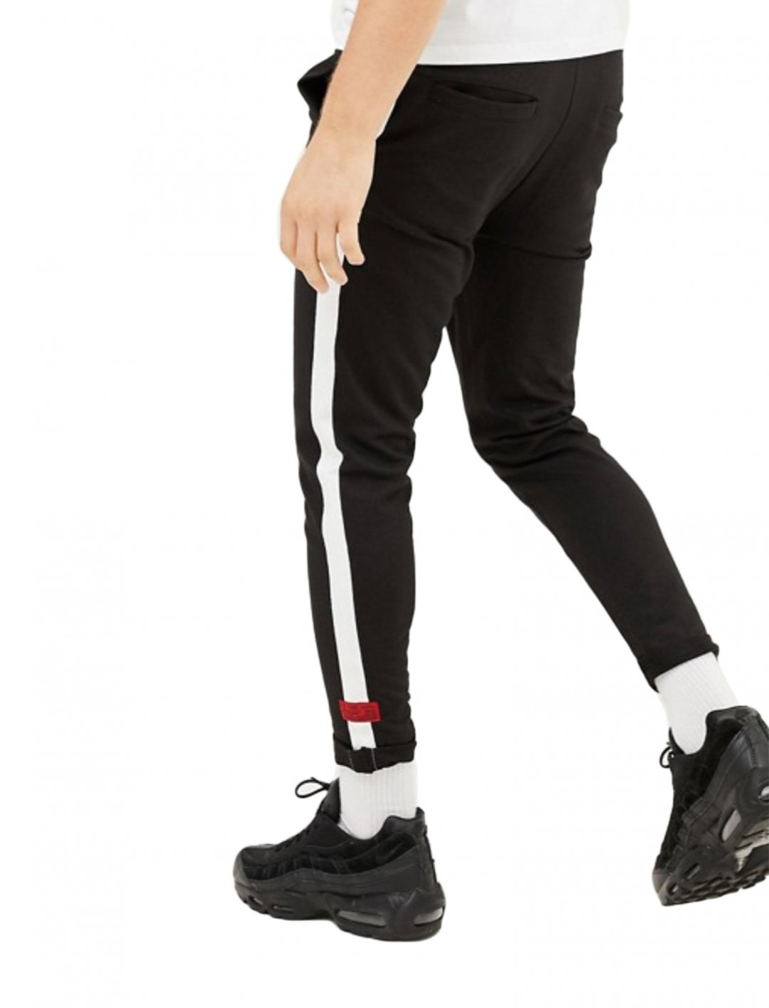 "Side Stripe Joggers {""id"":5,""product_section_id"":1,""name"":""Clothing"",""order"":5} boohooMAN"