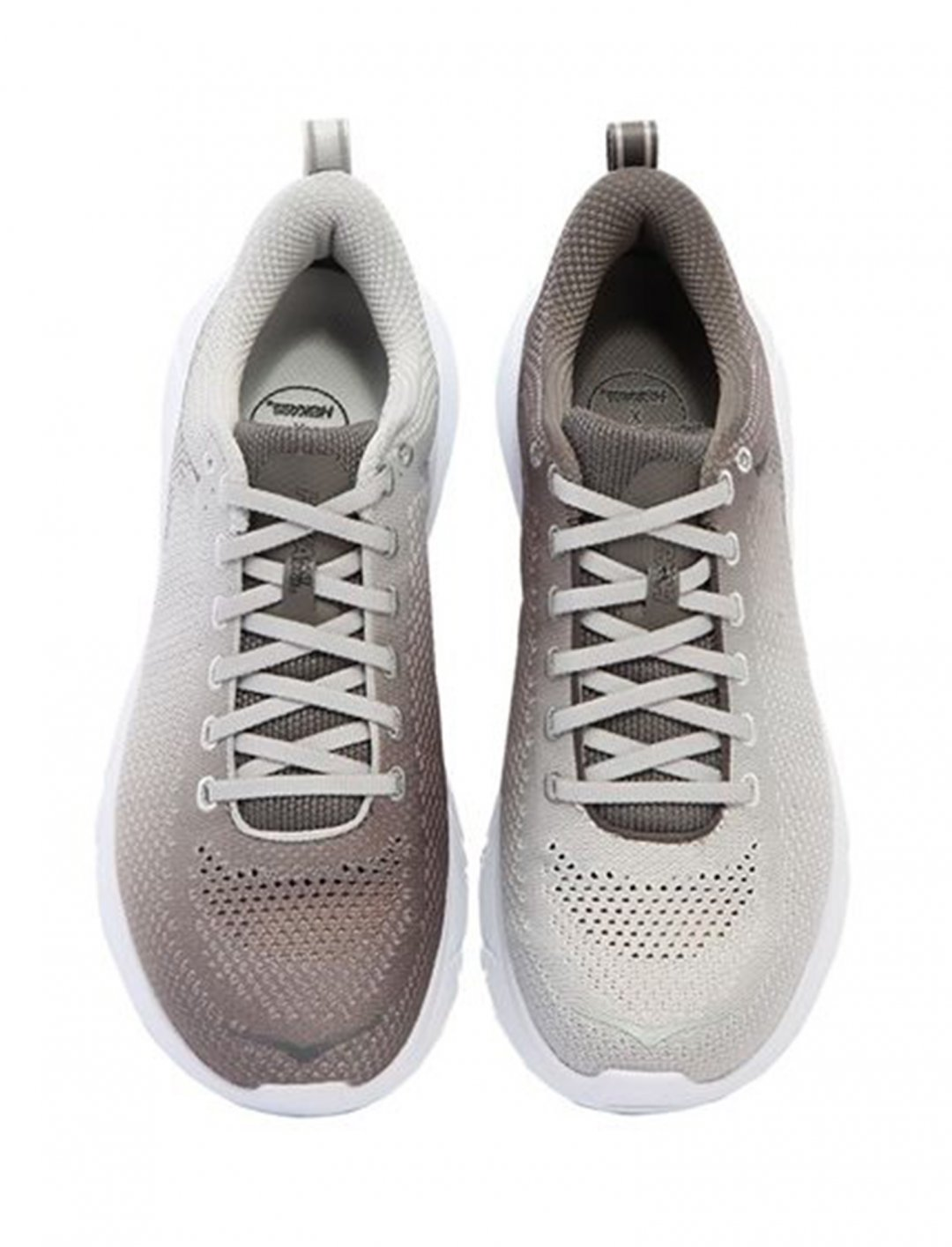 "Sneakers In Grey and White {""id"":12,""product_section_id"":1,""name"":""Shoes"",""order"":12} Hoka One One"